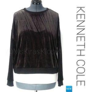🆕 Velvet Oversized Sweatshirt NWT